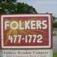 Folkers Window Company logo