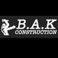 Bak Construction Inc. logo