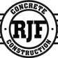 RJF Concrete Construction logo