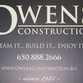 Owens Construction Company logo