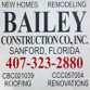 Bailey Construction Co., Inc. logo