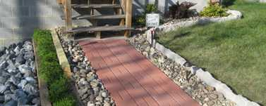 Sidewalk by Country Pride Lawn Care Llc