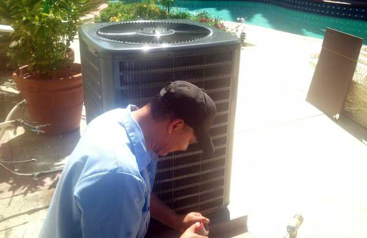 West Hills Air conditioner Change out (compressor burn-out)
