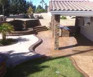 Staining by Creation Builders Inc.