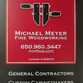 Michael Meyer Fine Woodworking logo