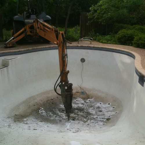 Swimming Pool Removal And Demolition San Antoniotx In San