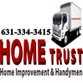 hometrust home improvement and handyman logo