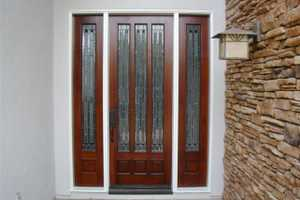 Entry door refinishing