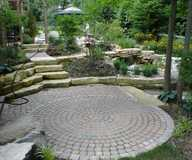 Work by Kilgore's Brick pavers and stone