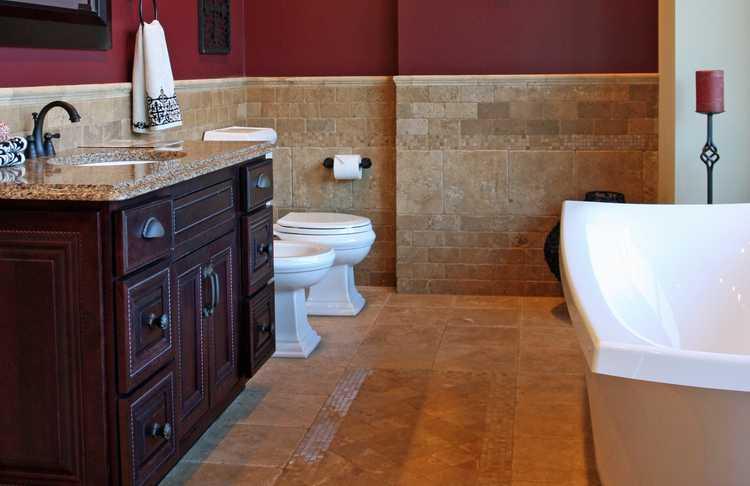 Bold Bathroom Remodel