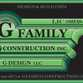 G Family, Inc. logo