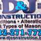 D&J Construction Company logo