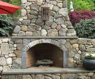 Work by Kilgore's Brick pavers and stone