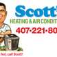 Scotts Heating & Air Conditioning logo