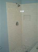 B R B Home Maintenance Shower Door Installation Photos (Before and After)