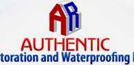 Authentic Restoration + Waterproofing, Inc. logo