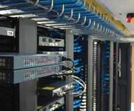 Work by LC Network Cabling and Fiber Optic Services