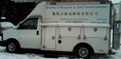 Truong's Heating & Air Conditioning Project