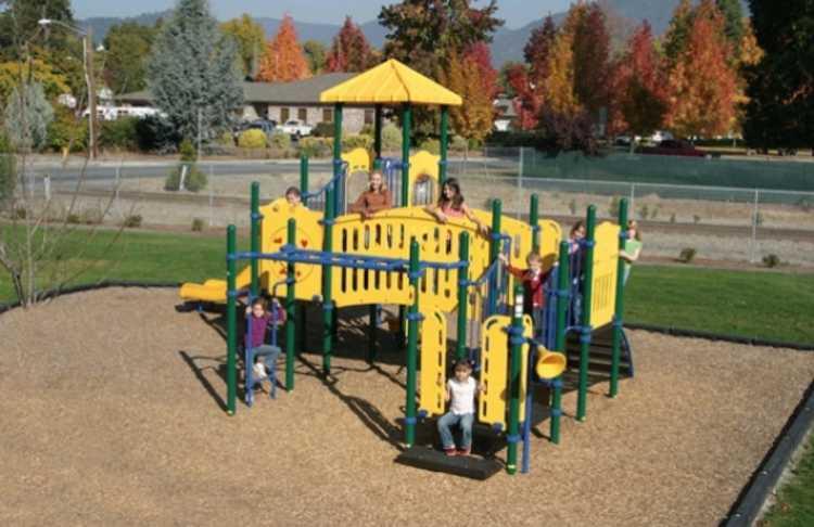 San Diego Playground Installation