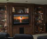 Home Theaters by Home automation, home theater, security camera, home audio