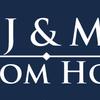 J & M Custom Homes logo