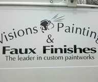 Work by Visions Painting & Faux Finishes