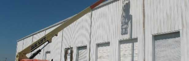 Industrial Warehouse Roof Repair, Greensboro, NC