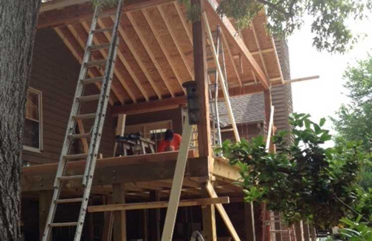 Porch Addition - Tega Cay, SC
