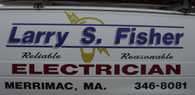 Larry S. Fisher Electric logo