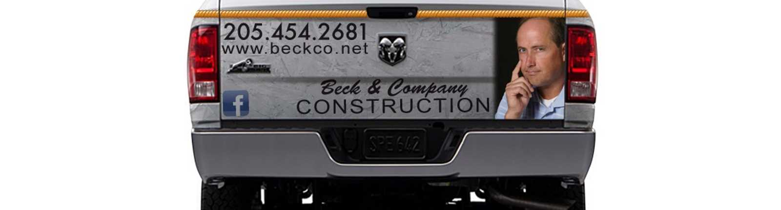 Beck & Company Construction header image